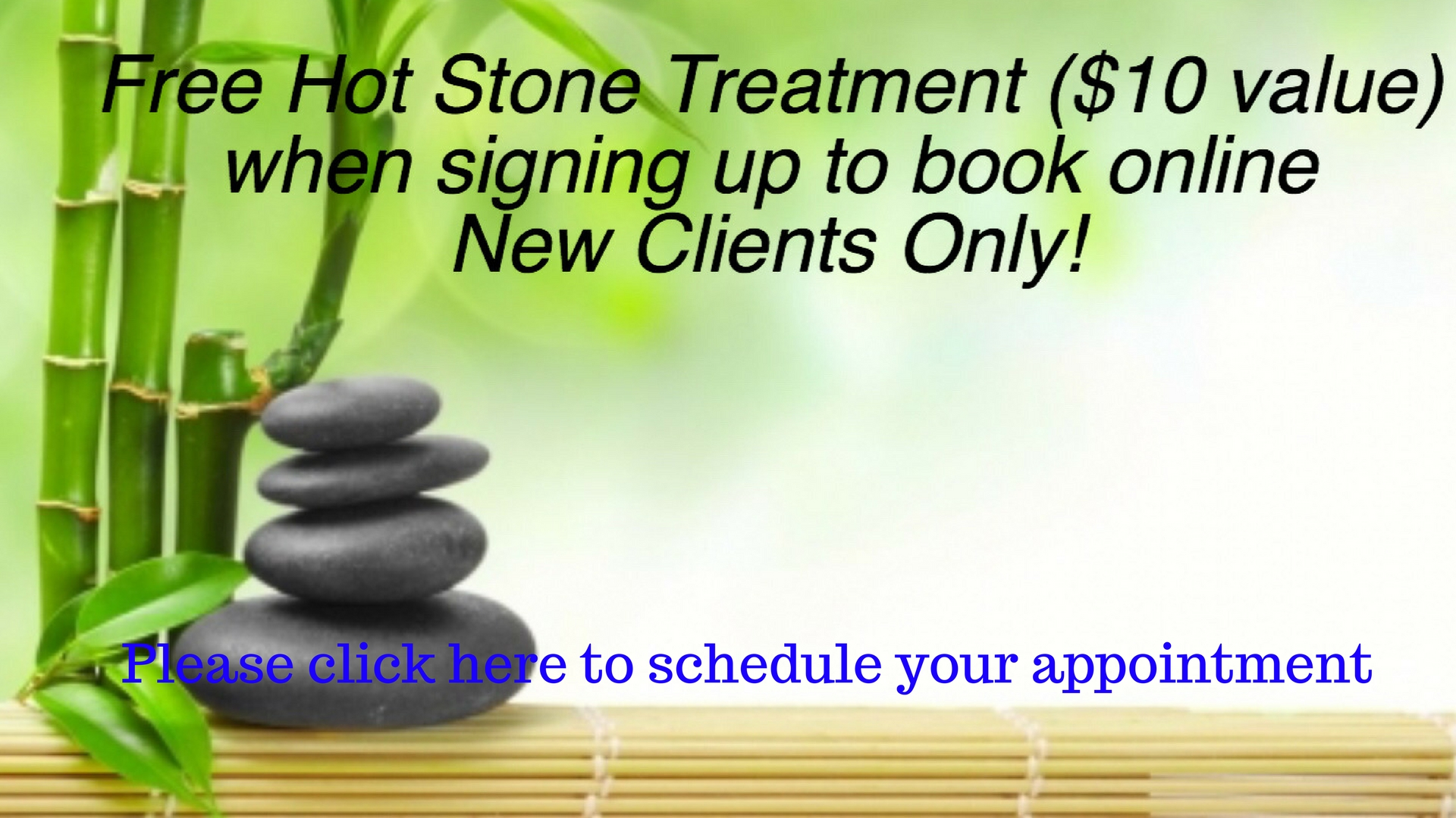 Please Click Here to schedule your apponintment